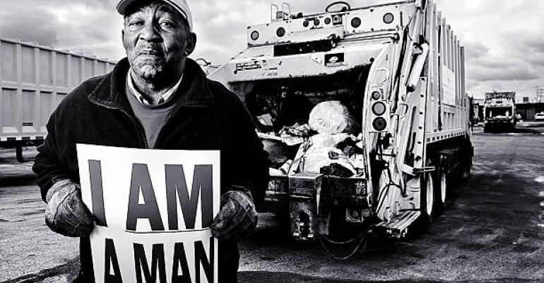 I am a man campaign after Memphis strike